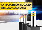 60dB Low Noise Automatic Rising Bollards 304 Stainless Steel 3.7KW System Dynamic Power