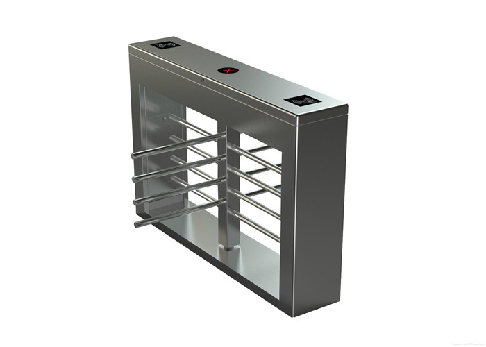 Pedestrian Security Automatic Half Height Turnstile For Gymnasium