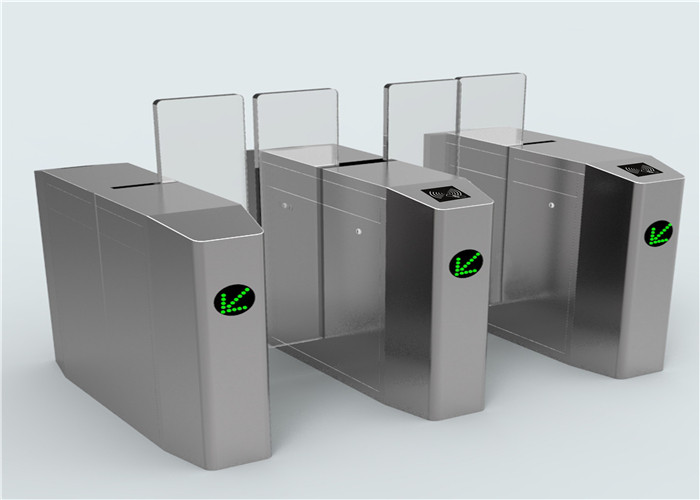 Automatic Elliptical Synchronization Full Height Turnstile For IC / ID Card Readers