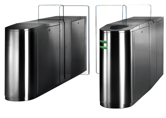 Electronic Sliding Access Control Turnstiles Turn Style Gate With Single / Bi - Direction