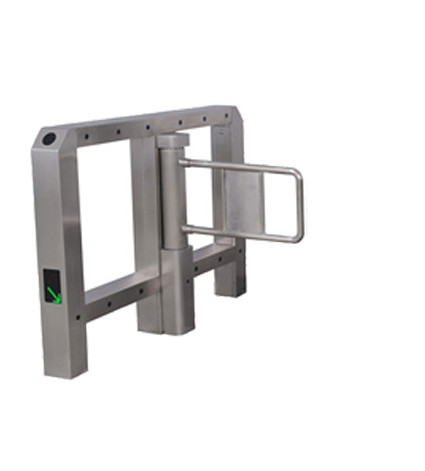 Infrared Sensor Pedestrian Swing Gate Arm Barrier High Speed
