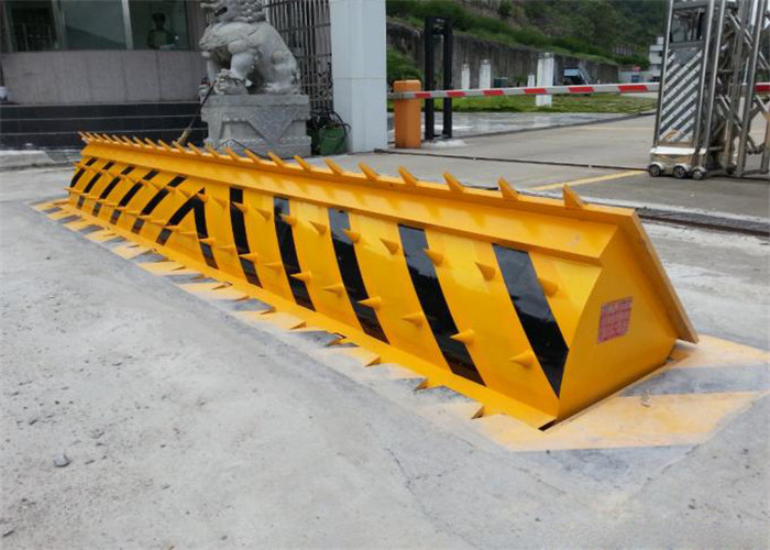 380 Voltage high speed anti bombing attack car road blockers roadway protection