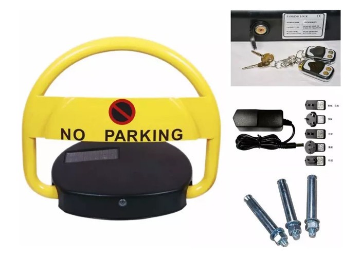 Europe quality strong parking space automatic remote control battery rechargeable parking spot guard